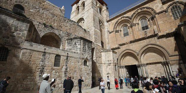 Kıyamet Kilisesi'nin Kapıları Hristiyanlara Açıldı!