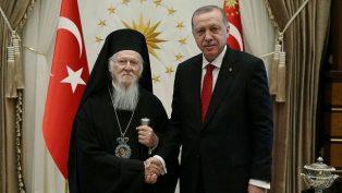 Cumhurbaşkanı Erdoğan, Ekümenik Patrik Bartholomeos'u Aradı