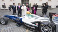 Papa Françesko Formula E Aracını Kutsadı!