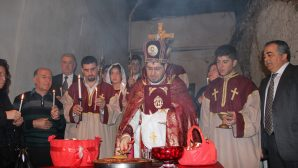 Easter Celebration in the Armenian Churches in Antioch