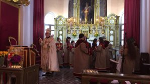 Easter Celebration in the Armenian Catholic Churches