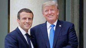 Trump ve Macron 1915 Olaylarına Değindi