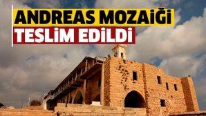 Havari Andreas Çalınan Mozaiği Törenle Teslim Edildi!