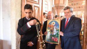 Edirne Bulgar Kilisesi'nde Aziz George Ayini
