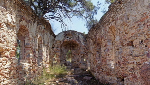 Treasure hunters destroyed the historical monastery
