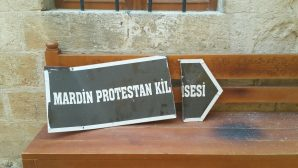 Church signboard was dismantled