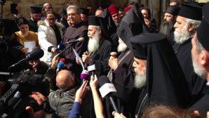 Yeruşalim'deki Hristiyan Din Adamlarından İsrail'e Tepki