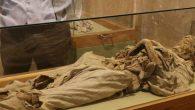 Niğde Müzesi'nin Bin Yıllık Sarışın Rahibe Mumyası