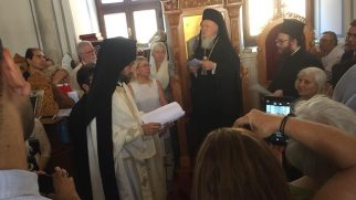 The Ecumenical Patriarch Bartholomew I visited Isparta and Antalya