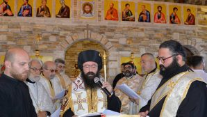 Samandag Saint George Church Opened at the Feast of Assumption