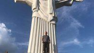 Brezilya'daki Kurtarıcı İsa Anıtı'nın Kopyası İnşa Edildi