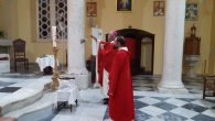 The Feast of the Exaltation of the Holy Cross celebrates in the Catholic Church of the Annunciation in Iskenderun