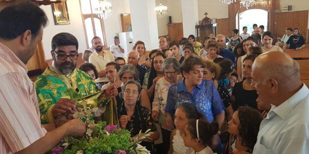 Hatay'daki Ortodoks Kiliselerinde 'Kutsal Haç Bayramı' Coşkusu