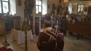 Mersin'de Haç'ın Yükseltilmesi Bayramı Ayini Yapıldı