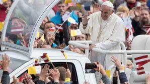 Papa Françesko, Letonya'yı Ziyaret Etti