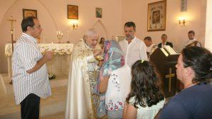 Türkiye Süryani Katolik Kilisesi Patrik Vekili Korepiskopos Orhan Çanlı, İskenderun'da Ayin Yönetti