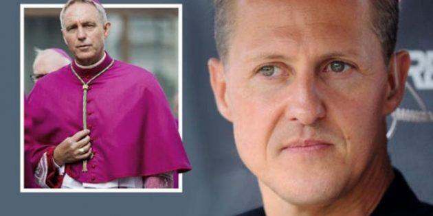 Papa Françesko'nun Yardımcısı, F1 Pilotu Schumacher'i Ziyaret Etti!