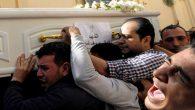Mısır'da Saldırıya Uğrayan Kıptilerin Cenaze Töreni Yapıldı