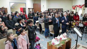 Christmas celebration in Diyarbakir
