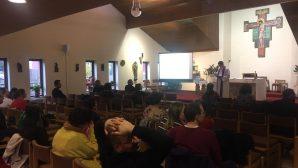 First Christmas Celebration in London Resurrection Church