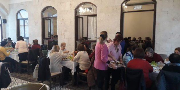 Hatay-Antakyalı Ortodokslardan Oruç Yemeği