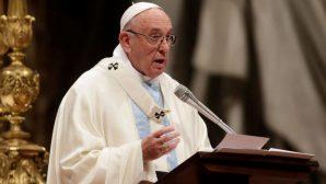 """Papa Françesko: """"Irkçı Liderleri Kınıyorum"""""""