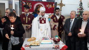 İskenderunlu Ermeniler Noel ve Vaftiz Bayramı'nı Kutladı