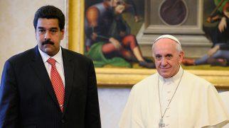 """Papa Françesko: """"Venezuela'ya Müdahale İçin Uygun Şartlar Oluşmadı"""""""