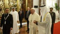 Papa Françesko, Arap Yarımadasına İlk Ziyaret İçin Abu Dabi'de