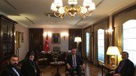 Aram Ateşyan ve Khajag Parsamyan Dışişleri Bakanı Mevlüt Çavuşoğlu ile Bir Araya Geldi