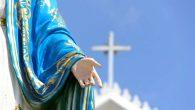Kimliği Belirsiz Bir Kişi Meryem Ana Heykeline Zarar Verdi