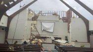 EF2 Kasırgası Zion Baptist Kilisesi'nin Çatısını Yıktı… İçeride 40 Çocuk Vardı!