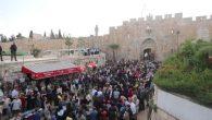 """Filistinli Hristiyanlar, Yeruşalim'de""""Palmiye Pazarı"""" nı Kutladı"""