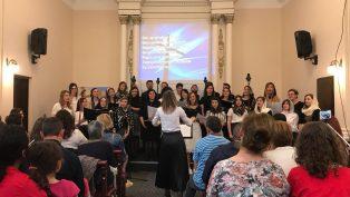 Anadolu Protestan Kilisesi, Romanya'dan Gelen Koroyu Ağırladı