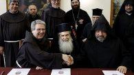 Yeruşalim'deki Geleneksel Kiliseler Kutsal Kabir Kilisesi İçin Yenileme Anlaşmasına İmza Attı