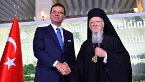 İstanbul Patriği'nden, İBB Başkanı İmamoğlu'na Ziyaret