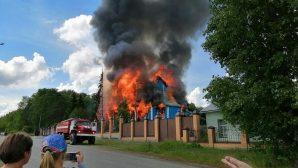 19. Yüzyıldan Kalma Ahşap Kilisesi'nde Trajik Yangın