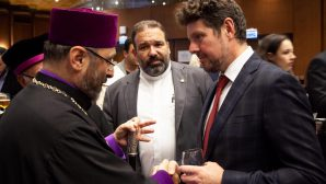 Değabah Episkopos Sahak Maşalyan,Önemli Resepsiyonlara Katıldı