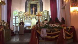 The Feast of the Holy Cross celebrated in the Armenian Catholic Churches