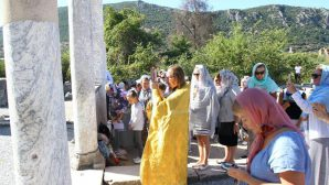 Russian Orthodox Church Holds Historical Rite Thousand Years Later in Ephesus