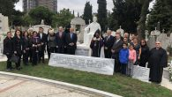 Inauguration of the statue of the Armenian writer Hagop Baronian in Istanbul