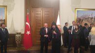 Türkiye Ermenileri Patriklik Kaymakamı Episkopos Sahak Maşalyan Ankara'yı Ziyaret Etti