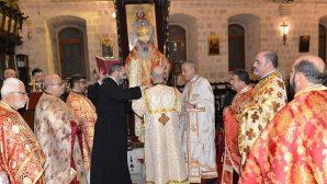 Athanasyos Fahd, the Metropolitan of Latakia, ordained a deacon in Antioch