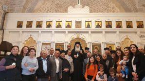 Metropolitan Bishop Fahd consecrated the church in Altınözü after the restoration works