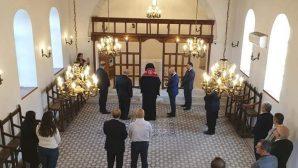 Restorasyonu Bitirilen Yayladağı Kilisesi'nde Kutsama Duası