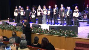 A fundraising concert organized for Getronagan High School