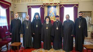 Elected Patriarch II. Sahak Mashalyan Receives Courtesy Visits