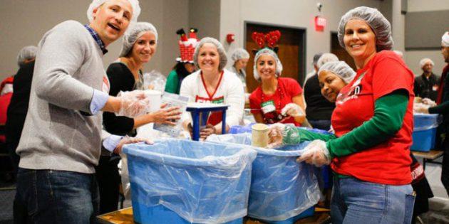 Liquid Kilisesi'nin Açlıkla Mücadele Girişimi