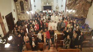 Celebration of the Birth of Christ in Samsun Catholic Church