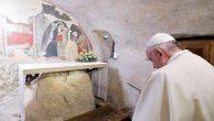 Papa, İlk Doğuş Sahnesini Ziyaret Etti